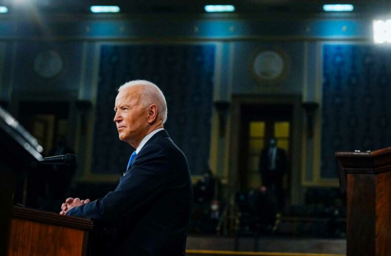 Read the full transcript from President Joe Biden's address to a joint session of Congress
