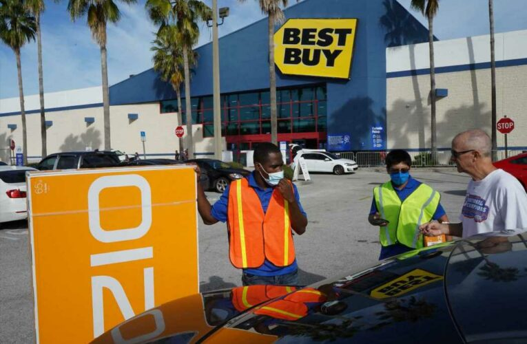 Stocks making the biggest moves midday: Best Buy, Casper Sleep, Etsy and more