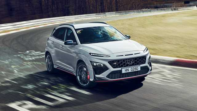 The Hyundai KONA N is a muscular little SUV