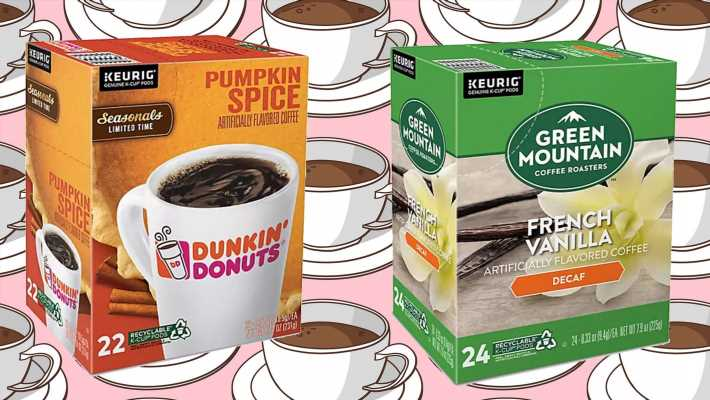 Tons of K-Cups are heavily discounted at Bed Bath & Beyond right now