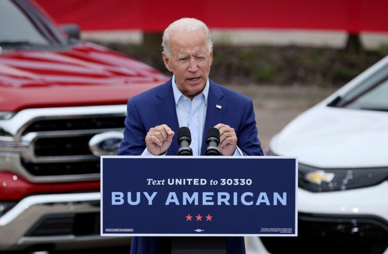 With Biden as an ally, United Auto Workers union prepares to fight for EV jobs