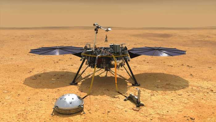 Mysterious 'sudden' rumblings heard coming from INSIDE Mars by Nasa probe