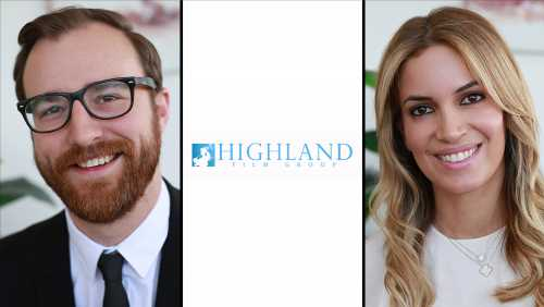 Highland Film Group Names Caleb Ward VP Acquisitions; Anita Levian Promoted To Head Business & Legal Affairs