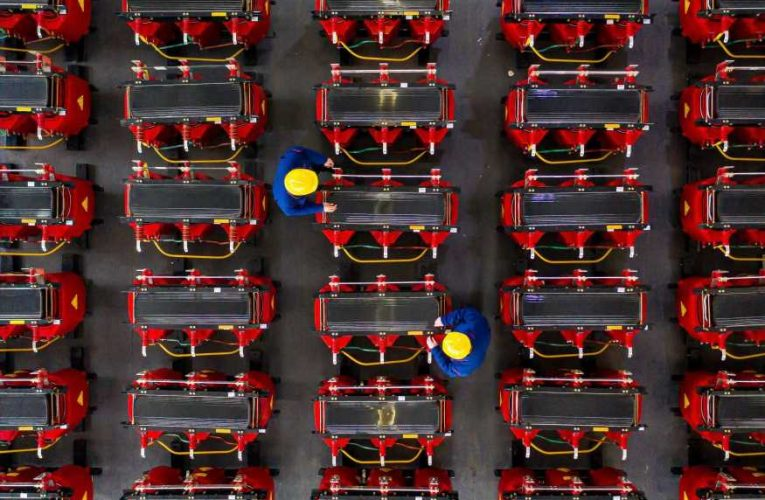 China's March factory activity growth slowest in almost a year, private survey finds