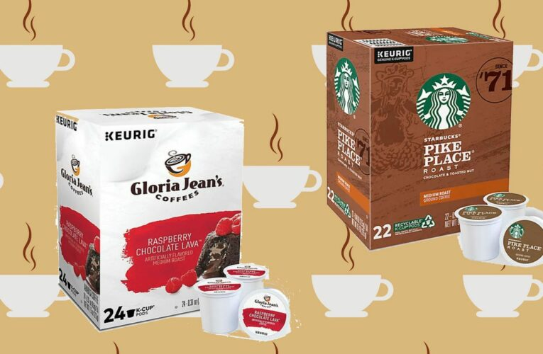 K-Cups are hugely discounted right now at Bed Bath & Beyond