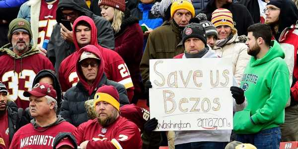 Jeff Bezos has been linked to 4 NFL teams in the last 3 years as disgruntled team owners or excited fans hope the Amazon billionaire will come to the rescue