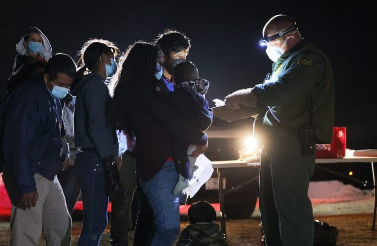 Over 171,000 migrants were apprehended at the US border in March, the highest number in 15 years