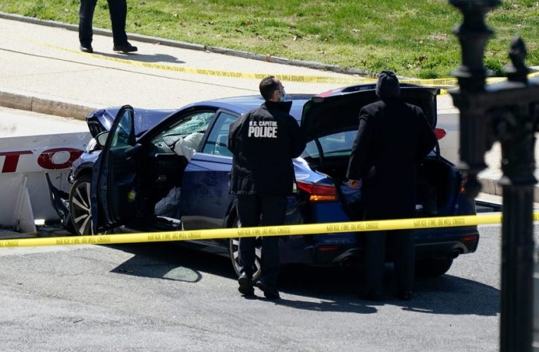 Police officer killed and suspect shot dead after vehicle attack at US Capitol