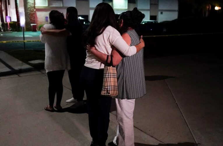 'My heart is crushed': Estranged wife of California shooting suspect says family has been threatened