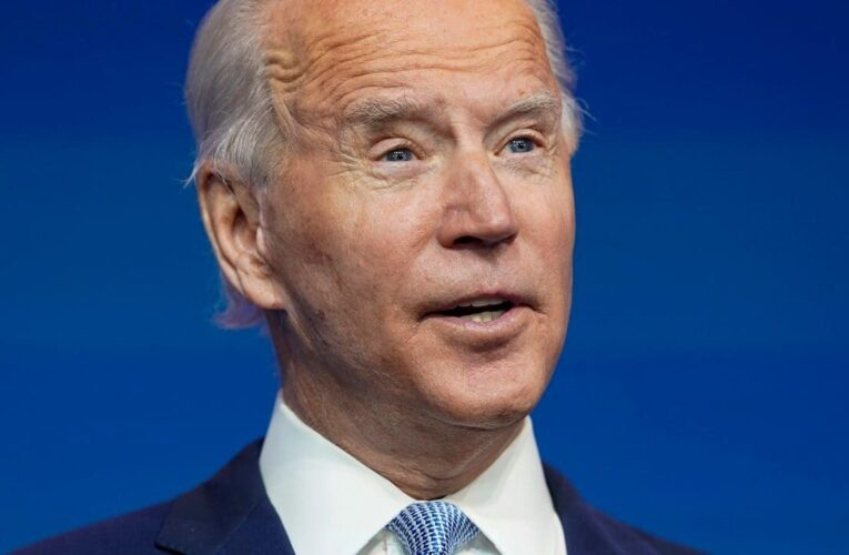 Biden's false remarks on gun show background checks gets a pass from some fact-checkers
