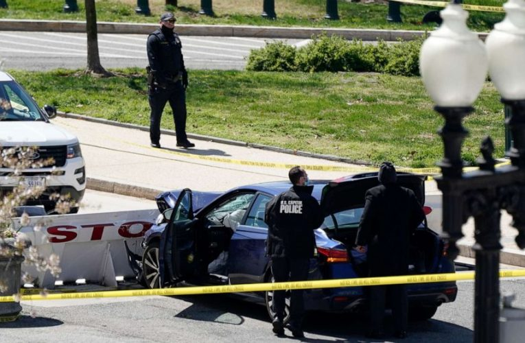 Shots fired at US Capitol barricade, suspect dead