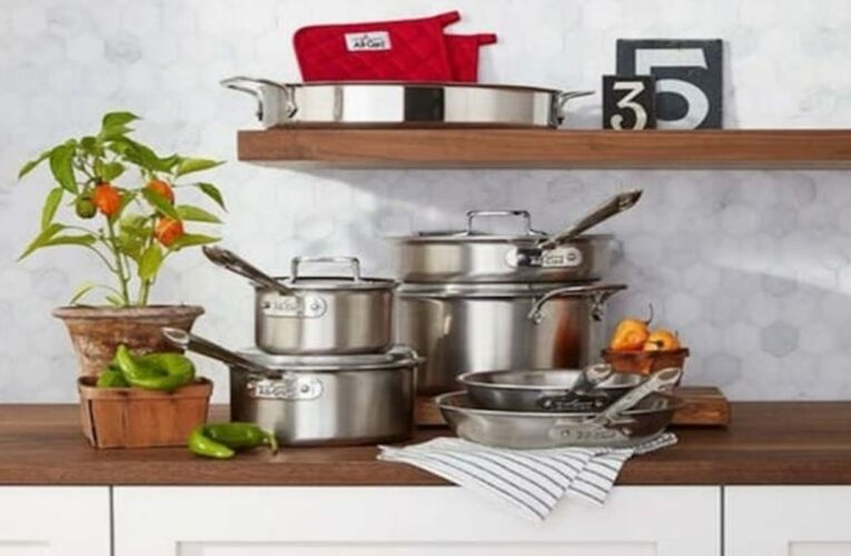 All-Clad cookware is up to half off right now at Macy's