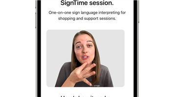 Apple introduces SignTime, more accessibility features for people with disabilities