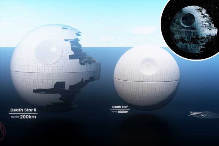 Celebrate Star Wars Day with mind-blowing video that shows REAL sizes of iconic spaceships