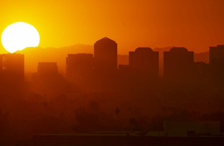 Climate Point: Government declares hot is the 'new normal'