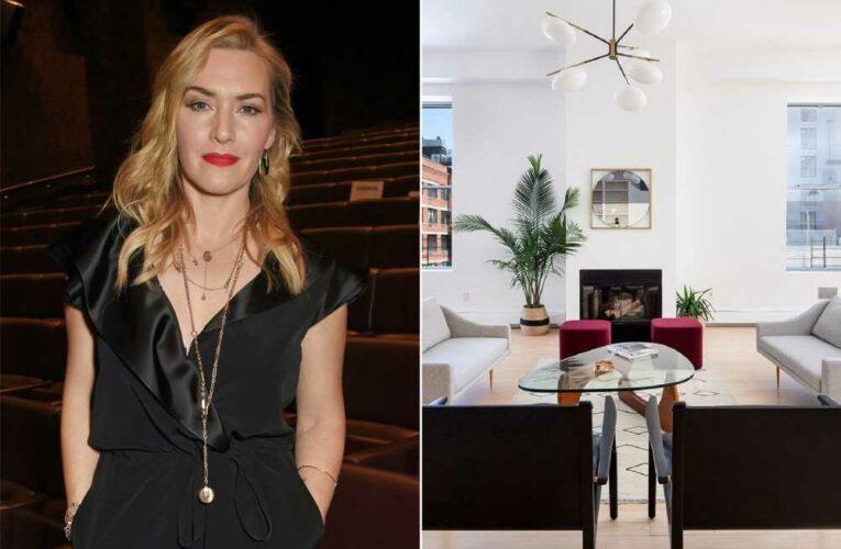 Kate Winslet sells titanic, $5.7 million NYC penthouse loft