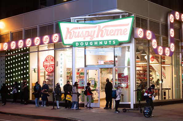 Krispy Kreme files for IPO, five years after going private