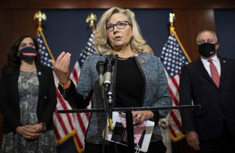 Rep. Liz Cheney urges Republicans to reject Trump 'cult of personality,' says 'history is watching'