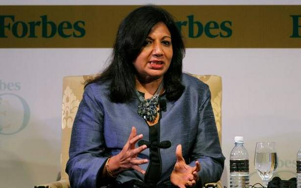 Second wave of COVID-19 has hit India 'like a tsunami' says Kiran Mazumdar Shaw