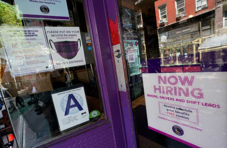 Workers file 498,000 new jobless claims as US hits pandemic low