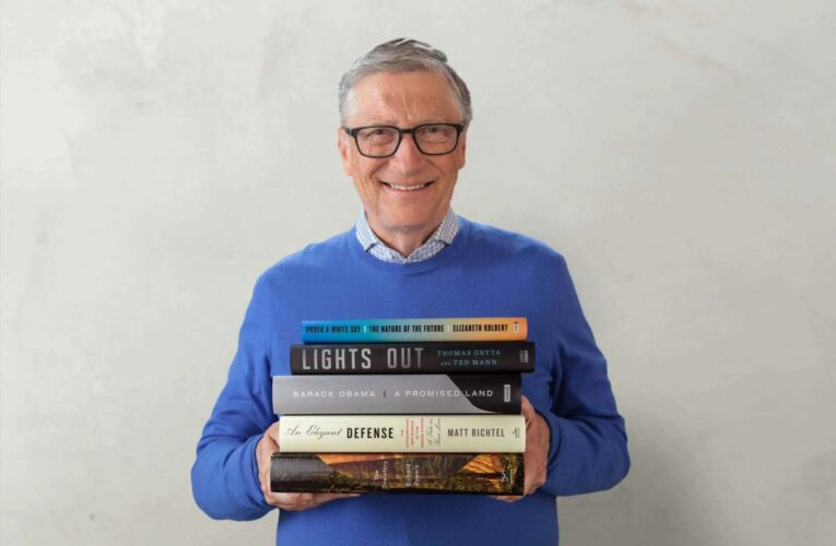 5 books Bill Gates recommends for your summer reading