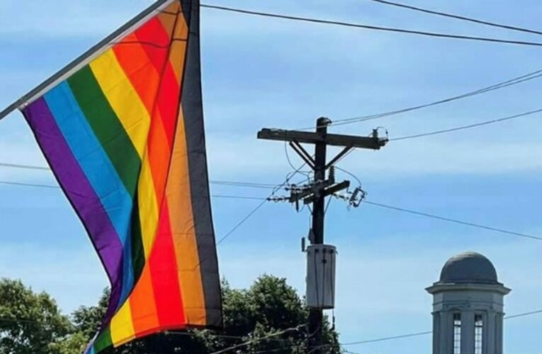 A tale of two flags: Even small towns are increasingly welcoming to LGBTQ people like me