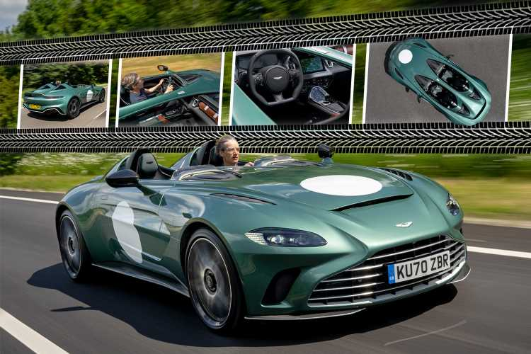 Aston Martin V12 Speedster review: 198mph supercar is the bargain of the year at £765,000