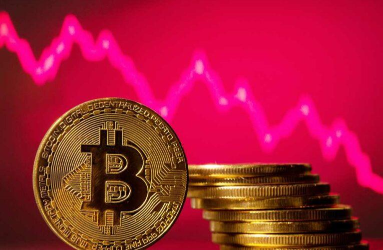 Bitcoin falls below $30K, erasing 2021 gains