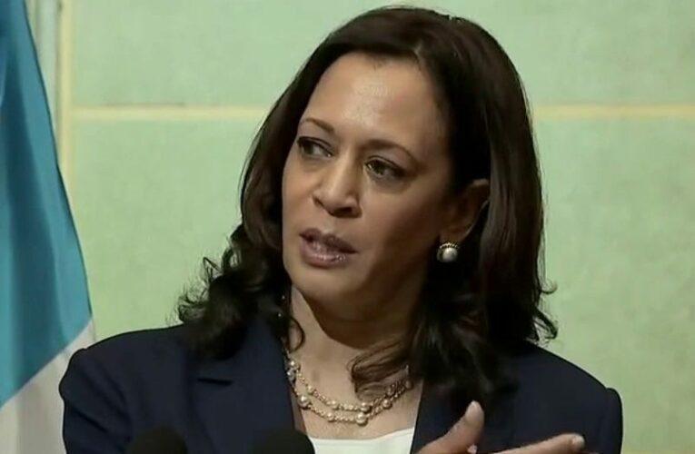 Boebert takes cardboard cutout of Kamala Harris to the border, as VP takes heat for failing to visit