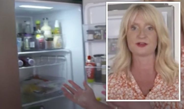 Cleaning expert Lynsey Crombie shares coffee hack for an odour-free fridge on This Morning