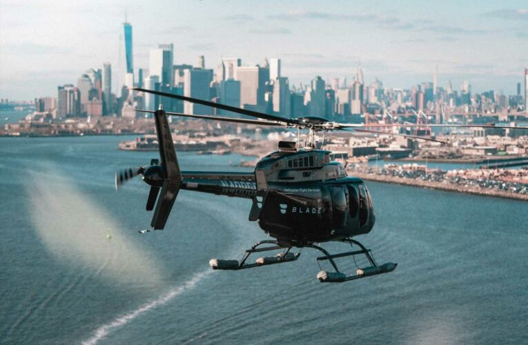 Helicopter startup Blade had phony spokesman for years, CEO admits