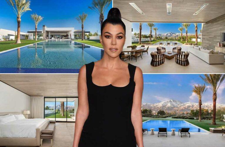 Inside Kourtney Kardashian's new $12M Palm Springs house