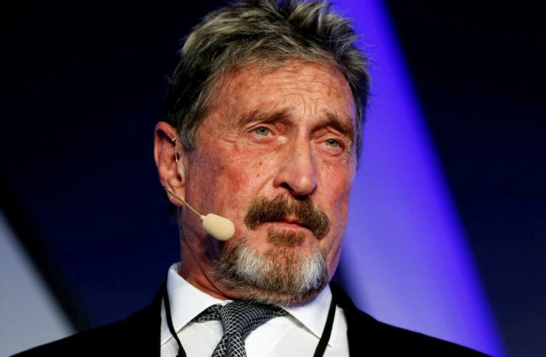 John McAfee dead of apparent suicide in Spanish jail after court approves his extradition for tax crimes