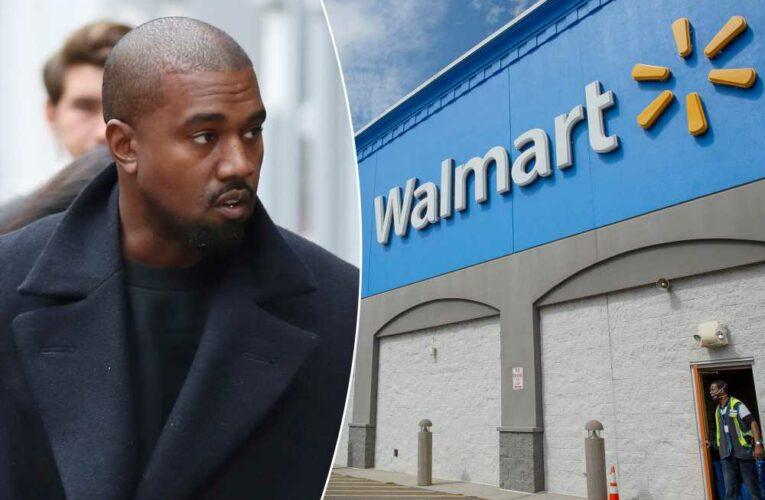 Kanye West's Yeezy mocks Walmart's objections to its new logo
