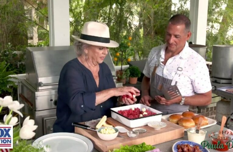 'At Home with Paula Deen': Celebrity chef reinvents the burger for Independence Day