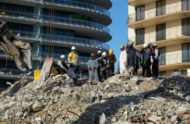 10 more bodies recovered from Florida condo collapse, bringing death toll to 46