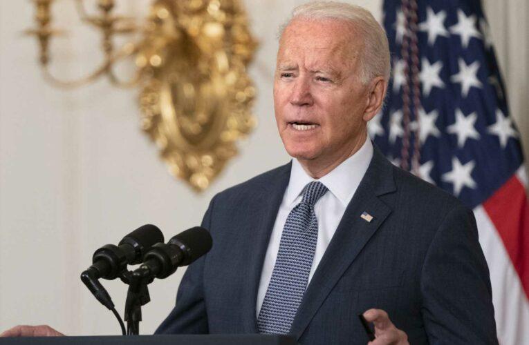 Biden backs Trump rejection of China's South China Sea claim