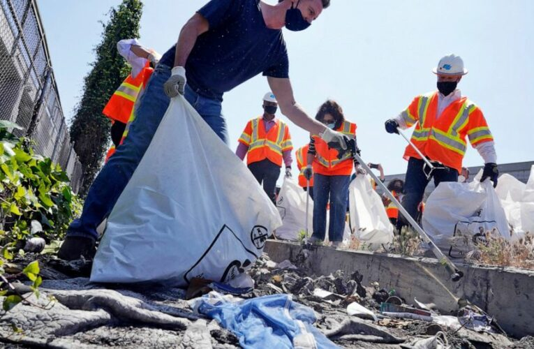 California governor kicks off $1B statewide cleanup plan