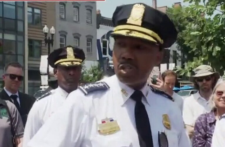 DC police chief blasts justice system after latest shooting: 'You cannot coddle violent criminals'