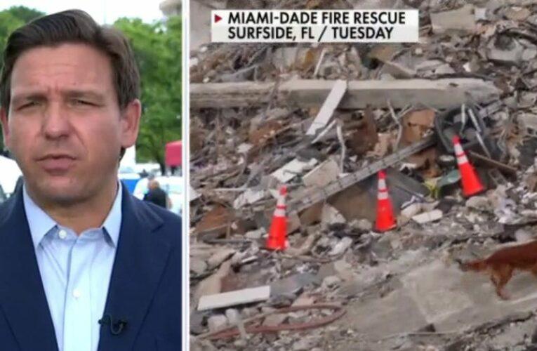 DeSantis in national spotlight as he responds to Miami condo collapse, Tropical Storm Elsa