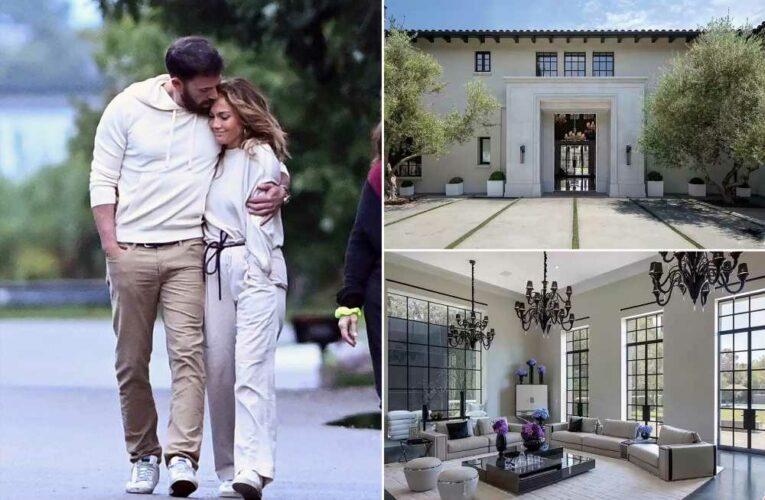 Inside the wild $65M mansion Jennifer Lopez and Ben Affleck just toured