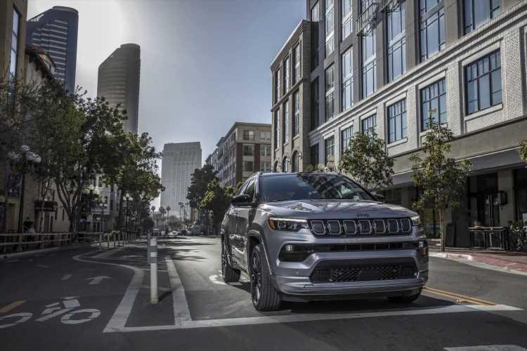 Jeep unveils 2022 Compass SUV ahead of EV push