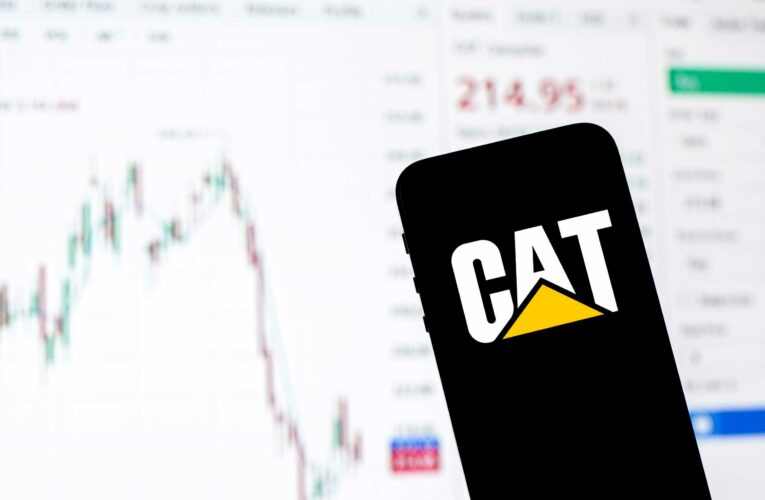 Key levels to watch for China proxy Caterpillar ahead of its earnings report