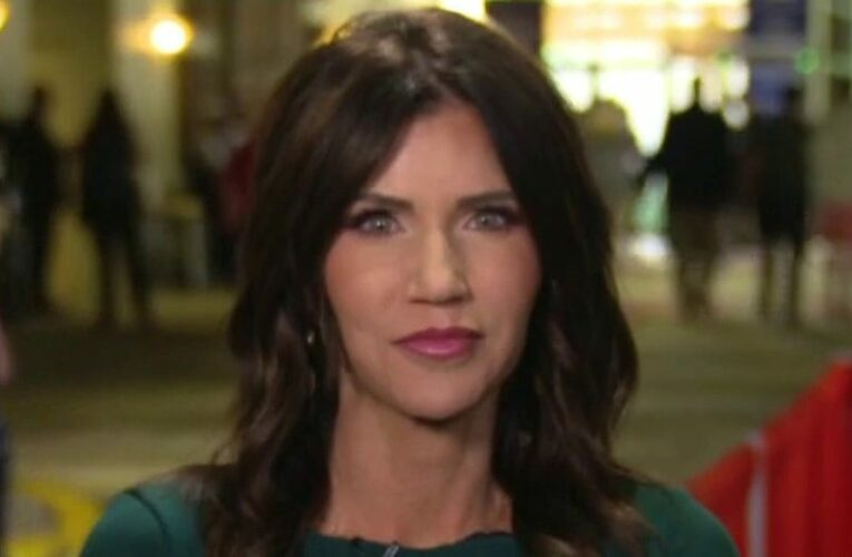Noem, at CPAC, argues country needs to 'fix damage' Biden is doing