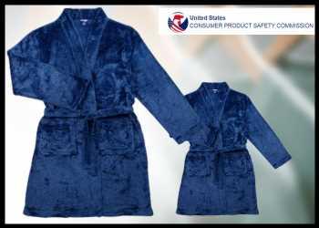 One Twenty Clothing Recalls Sovereign Athletic Children's Robes