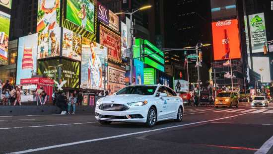 See the first self-driving car to take a spin on NYC streets