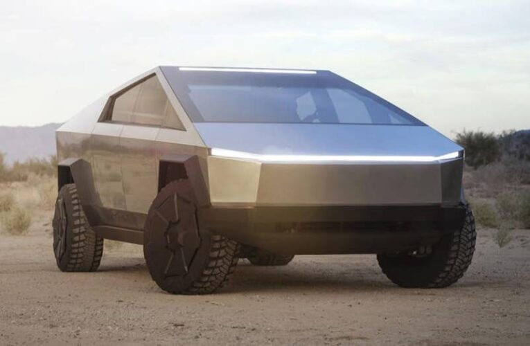 Tesla patent reveals the vehicles it may have copied to design the Cybertruck
