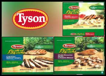 Tyson Foods Recalls 8.49 Mln Pounds Of Ready-To-Eat Chicken Products