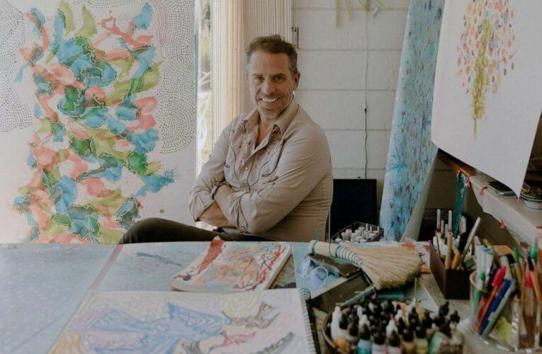 White House officials arrange confidential sales of Hunter Biden's art