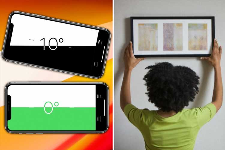 Your iPhone has genius trick to make sure you hang pictures straight
